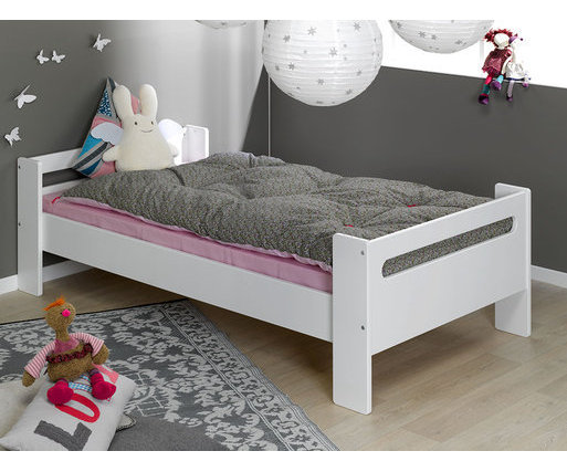 Cama London, blanco