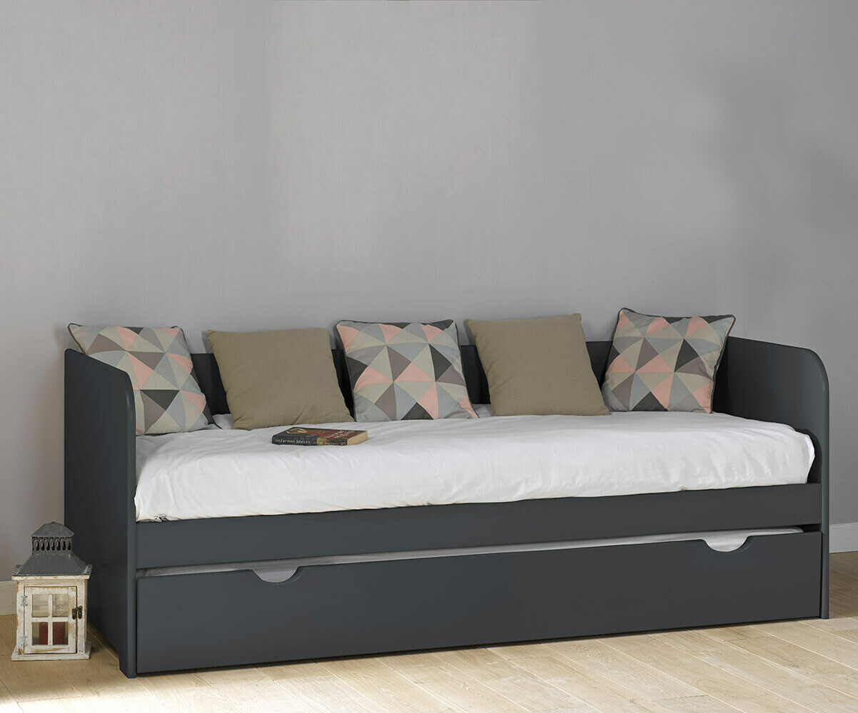 Sof cama nido juvenil bali de 80x200cm blanco for Sofa cama para habitacion juvenil