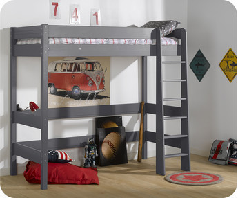 Comprar camas altas y en altura juveniles e infantiles for Camas altas juveniles