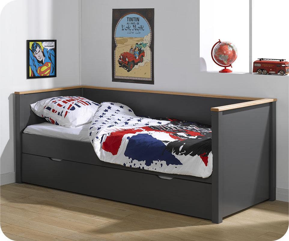 Sofa cama para habitacion juvenil amazing camas litera y - Sofa cama juvenil ...