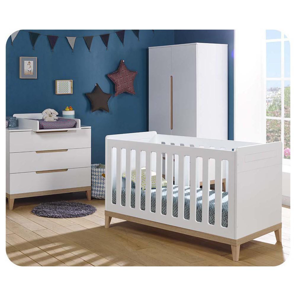 Dormitorios y mini dormitorios beb cuna c moda armario ecol gicos - Habitacion completa bebe ...
