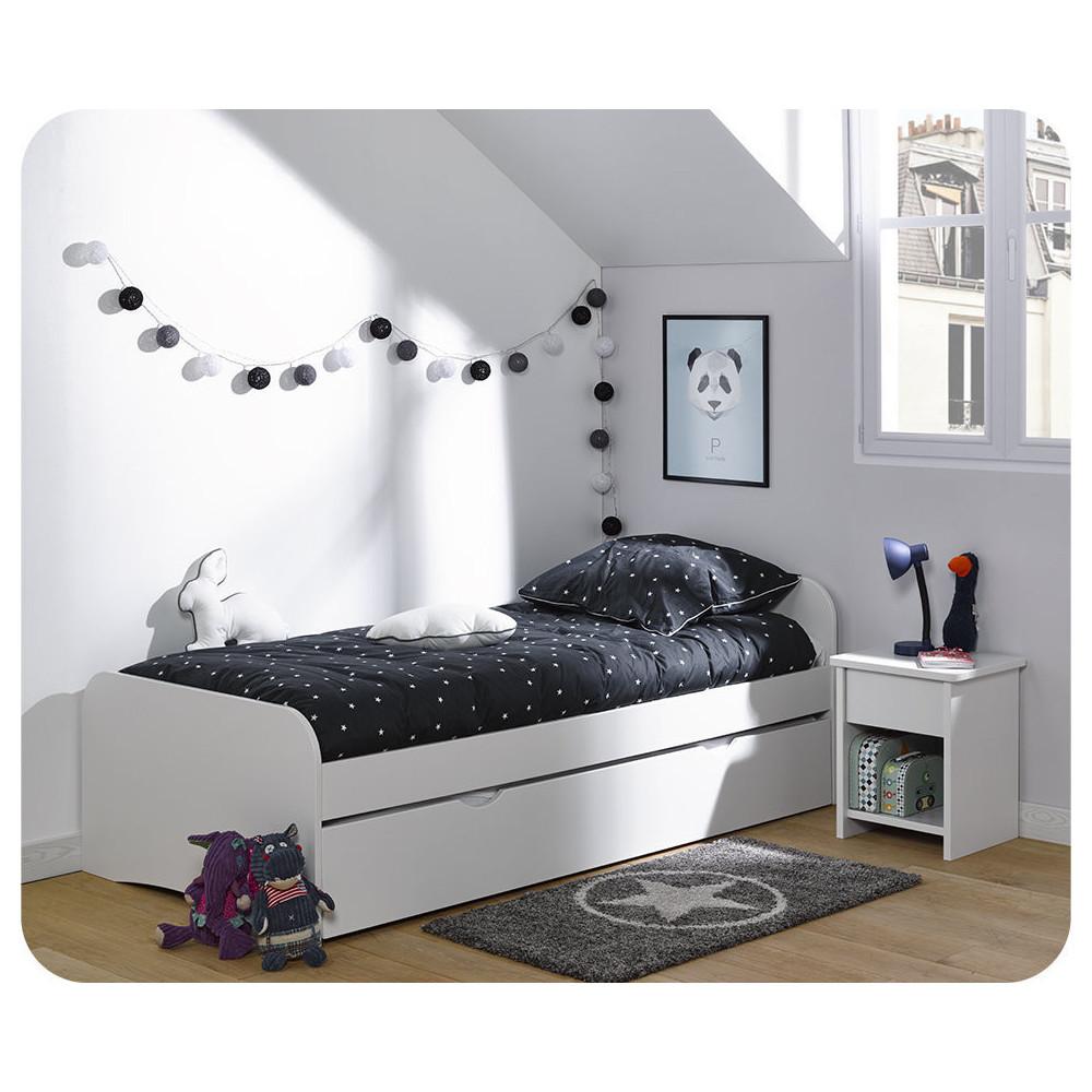 Comprar camas nido juveniles y sof s cama for Cama juvenil blanca