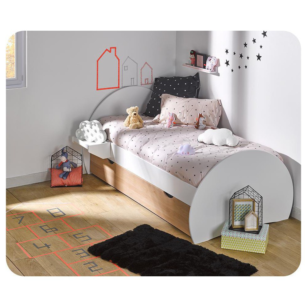 Comprar camas nido juveniles y sof s cama for Cama nido color haya