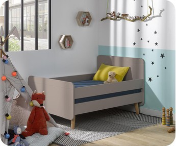 Cama evolutiva WILLOW Lino, con patas