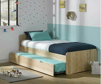 Cama nido juvenil Willow Natural