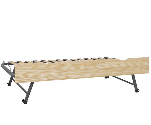 Cama nido supletoria 90x190cm frontal Natural  Willow