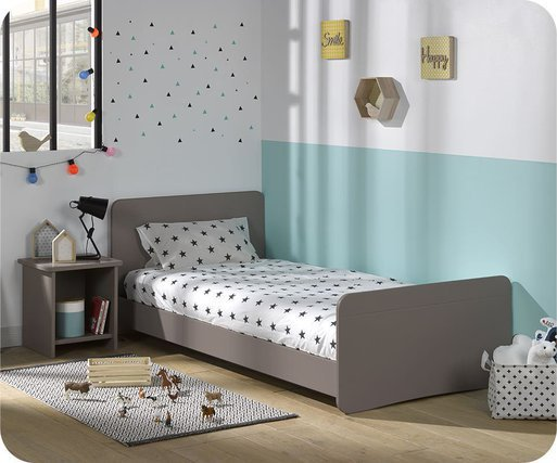 Cama juvenil evolutiva Willow 90x190cm Lino