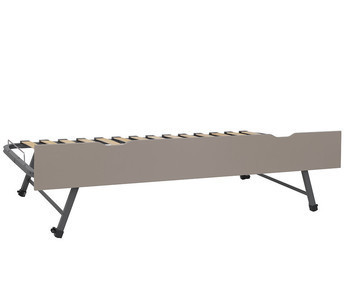Cama nido supletoria 90x190cm frontal Lino  Willow