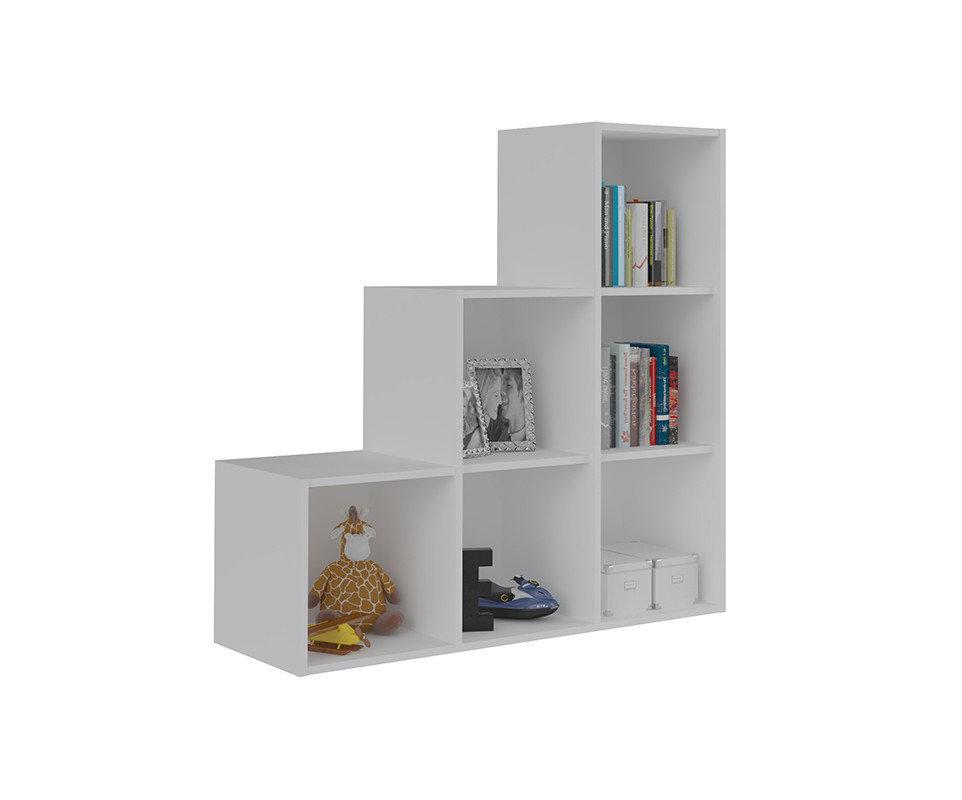 Mueble de almacenaje escalera moov blanco - Muebles para almacenaje ...