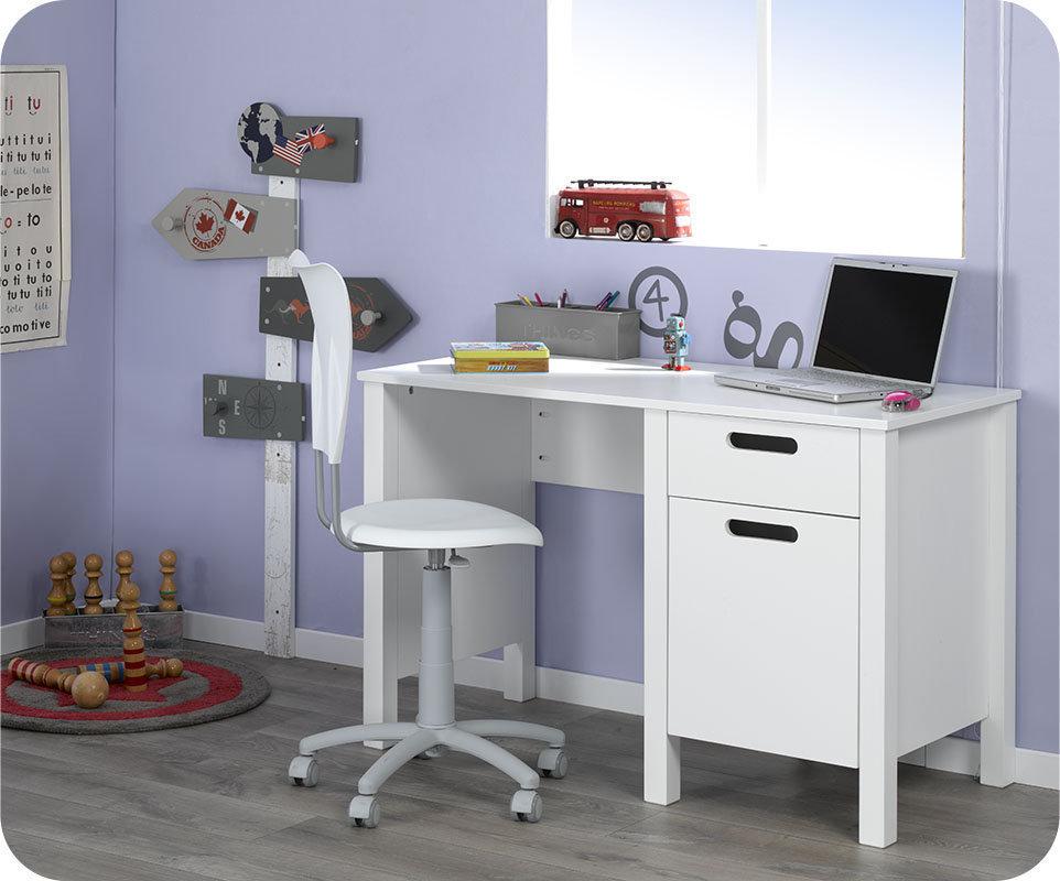 escritorio juvenil campus blanco On escritorio juvenil blanco