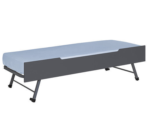 Cama nido supletoria 90x200cm, Gris Antracita Sleep'In