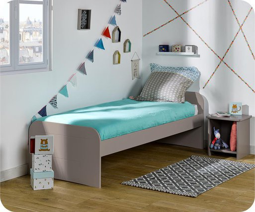 Cama juvenil 90x200cm Sleep'In, Lino
