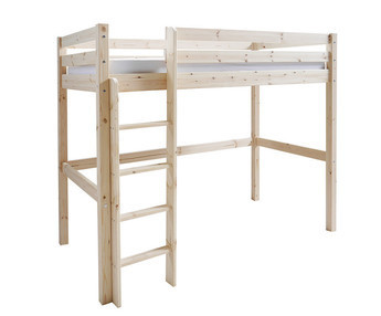 Cama Alta Wood 90x190cm Natural