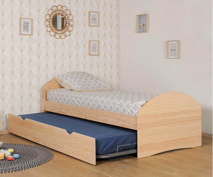 Cama Nido Madera Natural -Spoom