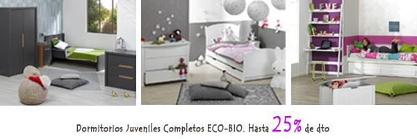Dormitorios completos para niños