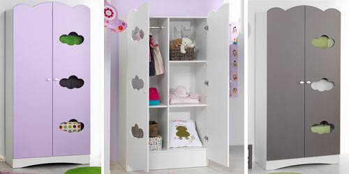 Armario de bebé ALTEA para habitación de bebé