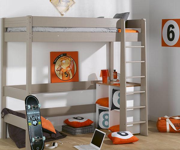 Camas altas para ni os para el dormitorio de tus hijos - Tiempo en camas ...