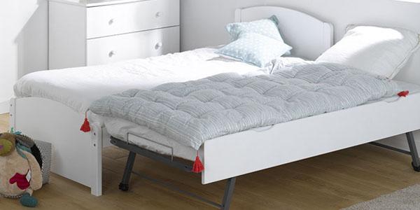 Descubre una cama nido blanca calidad 100 europea - Somieres cama nido ...