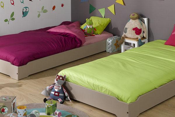 Camas bajas para ni os camas estilo montessori - Camas extensibles para ninos ...