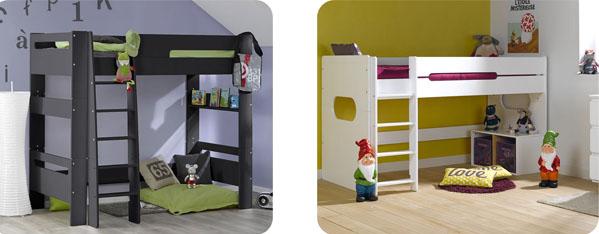 Muebles compactos juveniles habitaci n juvenil for Camas altas juveniles