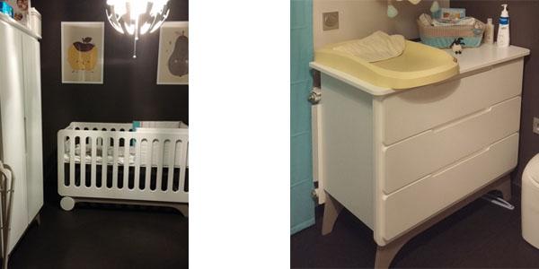 Habitaci n de beb completa ecol gica blanca lino - Habitacion completa bebe ...