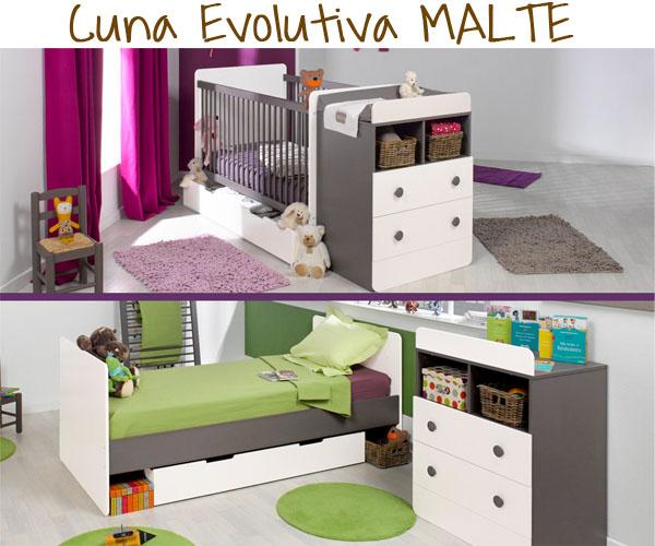 Cuna convertible evolutiva Malte