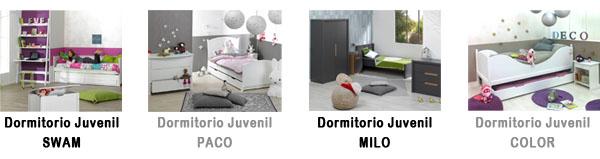 Dormitorios Juveniles en Mobikids