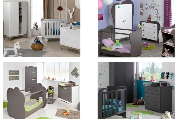 Dormitorio de Bebé completo en Mobikids