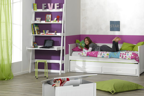 Dormitorios juveniles peque os de espacio reducido - Decoracion de dormitorios juveniles pequenos ...