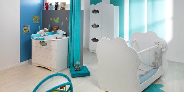 Habitación de bebé completa en Mobikids