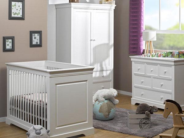Habitaci n de beb completa del modelo mel for Habitacion completa bebe boy