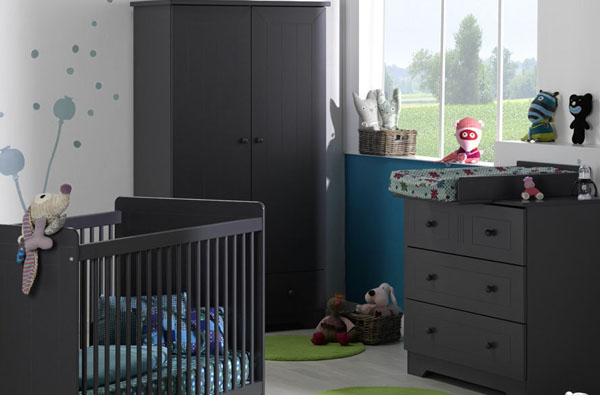Mueble para beb completa la habitaci n del beb for Habitacion completa bebe boy