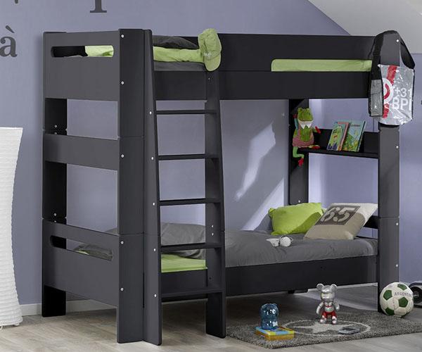 Habitaciones con literas para ni os mueble juvenil for Habitaciones con literas