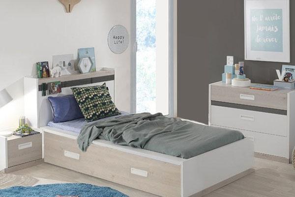 Ideas para completar habitaciones juveniles peque as - Muebles para habitaciones pequenas juveniles ...