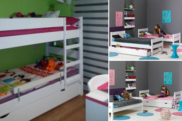Litera juvenil 123, camas gemelas, sofa