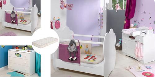 Mini dormitorio de bebé ALTEA