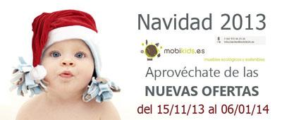 Mobiliario bebé y juvenil. Ofertas Navidad 2013