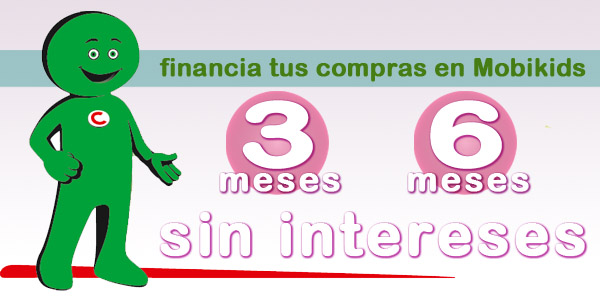 Financiación sin intereses en mobikids