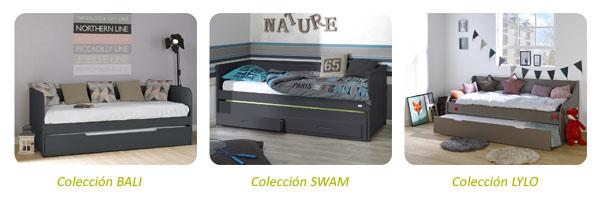 Sof cama nido juvenil para la habitaci n de tus hijos - Sofa cama para habitacion juvenil ...