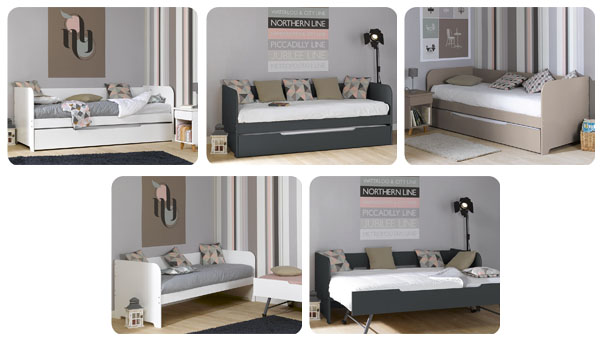 Sof s cama nido juveniles en black friday mobikids - Sofa cama para habitacion juvenil ...