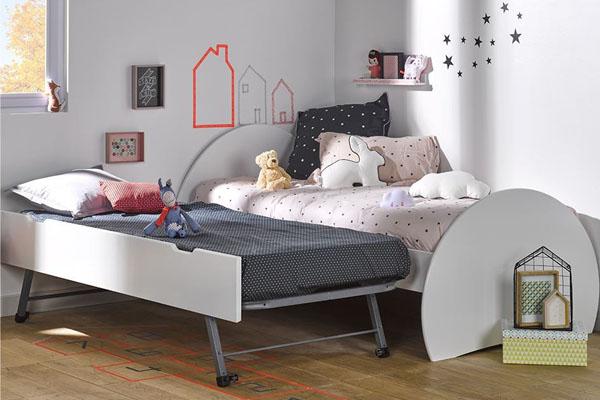 Descubre una cama nido blanca calidad 100 europea for Cama nido blanca online