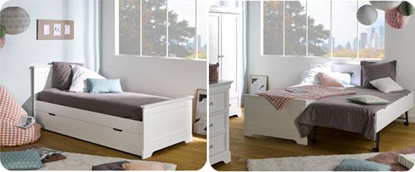 Camas dobles para ni os madera maciza y mdf - Dormitorios dobles para ninos ...