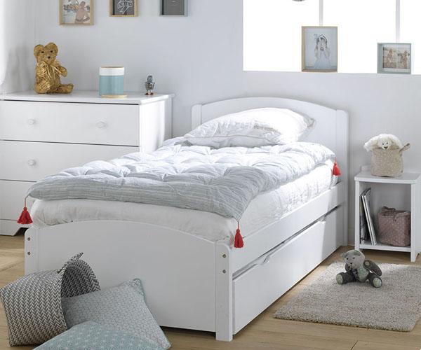 Habitaciones juveniles blancas venta online mobikids - Camas blancas juveniles ...