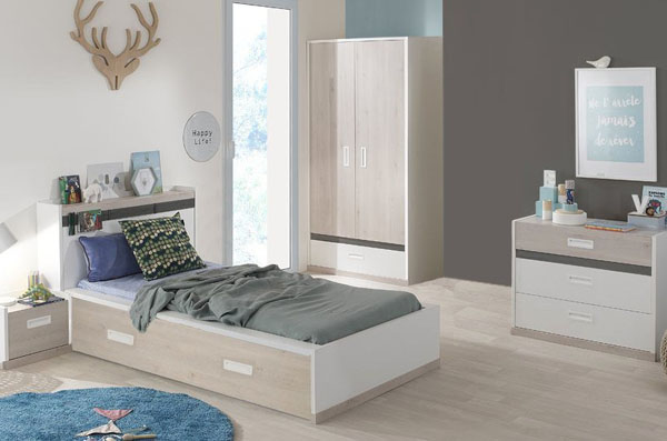 Habitaciones juveniles modernas de venta online for Recamaras juveniles modernas