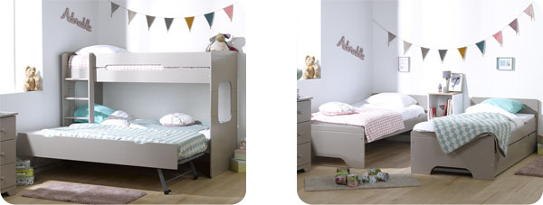 literas para habitaciones muy peque as gana espacio On literas para habitaciones pequenas